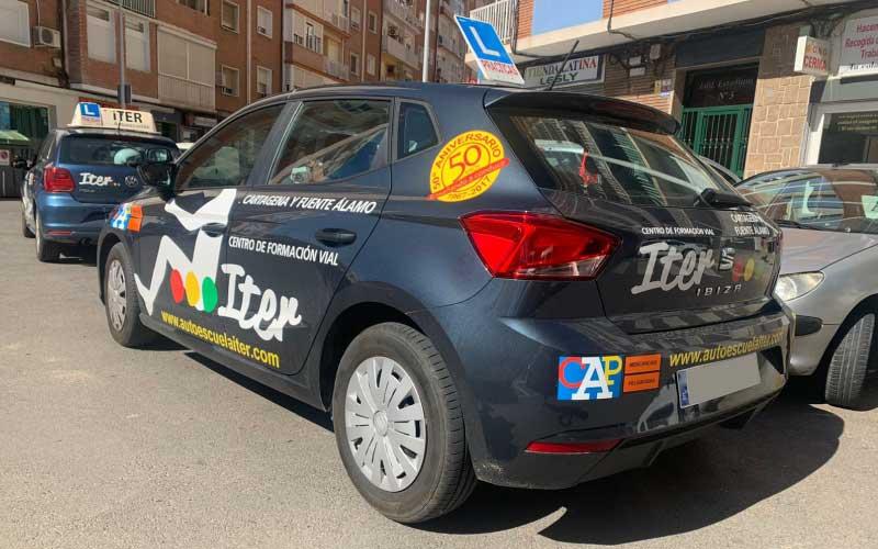 carnet de conducir autoescuelas iter cartagena